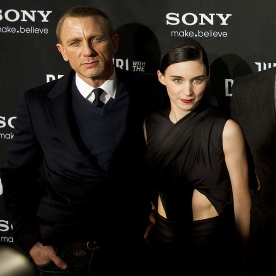 Craig Mara Dragon Tattoo Stockhome Premiere Pictures