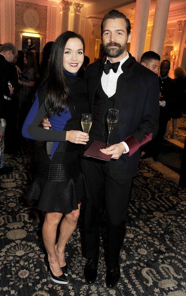 Victoria Pendleton and Patrick Grant