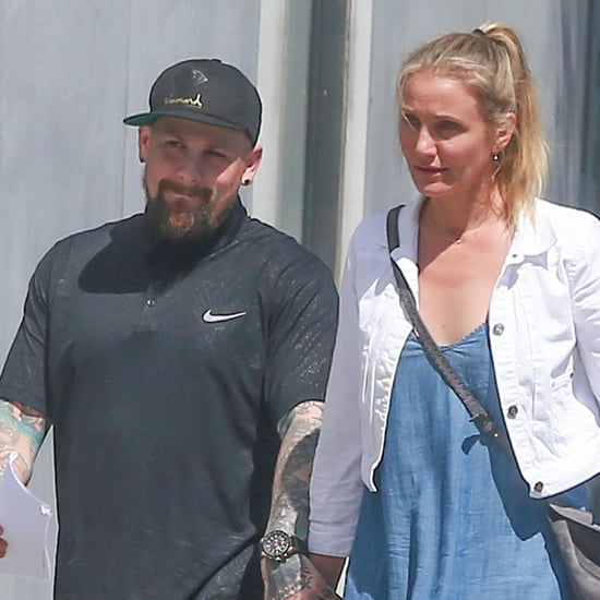Benji Madden and Cameron Diaz Hold Hands in LA August 2016