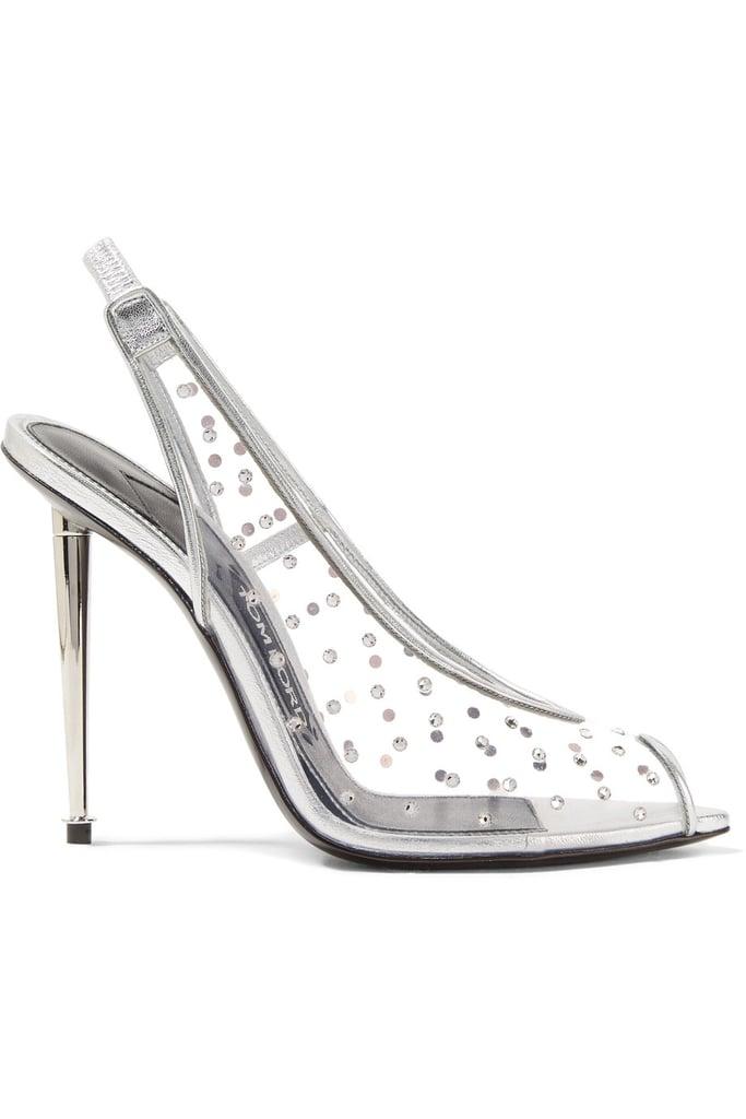 b6fd59f1e1b Bey's Exact Heels | Beyonce Clear Tom Ford Heels | POPSUGAR Fashion ...