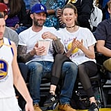 Behati Prinsloo Nails the Athleisure Trend While on a Date Night With Adam Levine