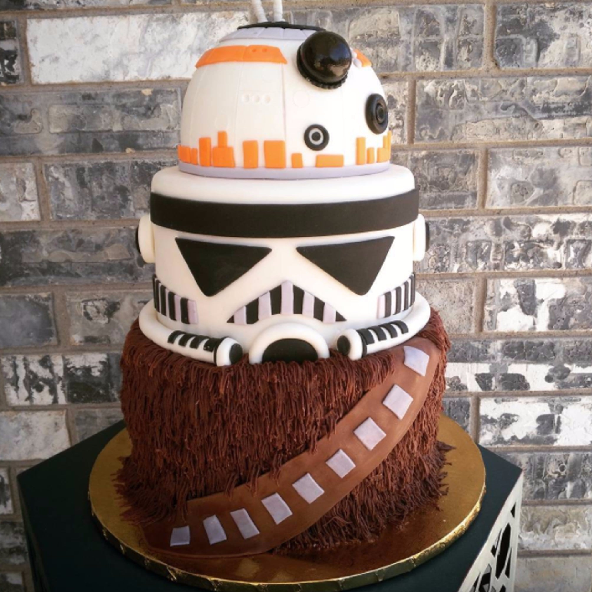 Birthday Cakes Star Wars