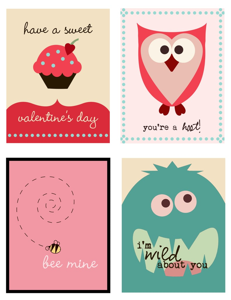 valentine u0027s day free printable cards popsugar smart living