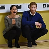 While You Were Looking at Meghan Markle, We Were Shopping Prince Harry's $100 Cashmere Sweater