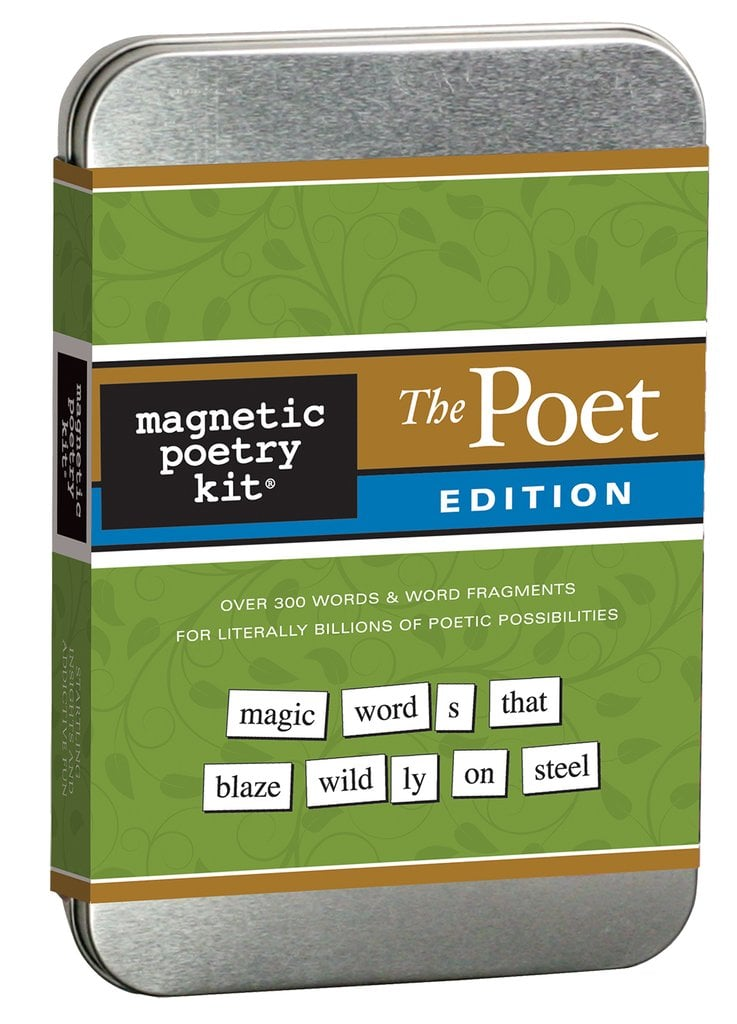 "Magnetic Poetry Kit ""Poet"" Edition ($22)"