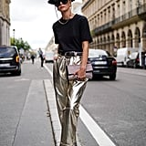 French-Inspired Style: Opt For a Wide-Leg Silhouette