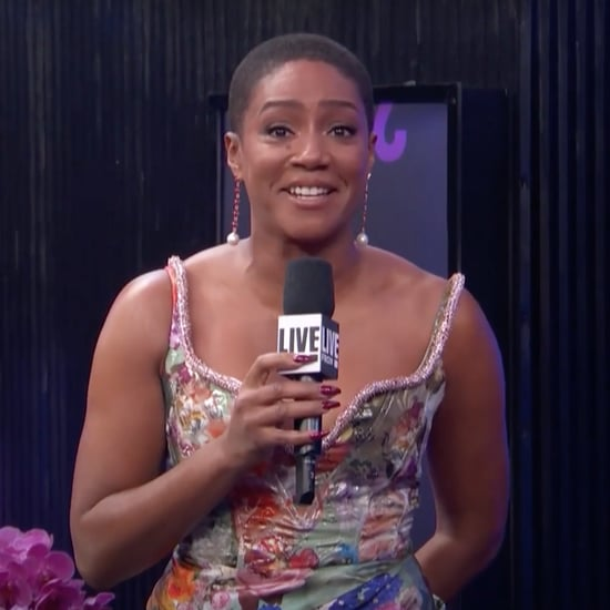 Tiffany Haddish Discusses Buzz Cut at People's Choice Awards