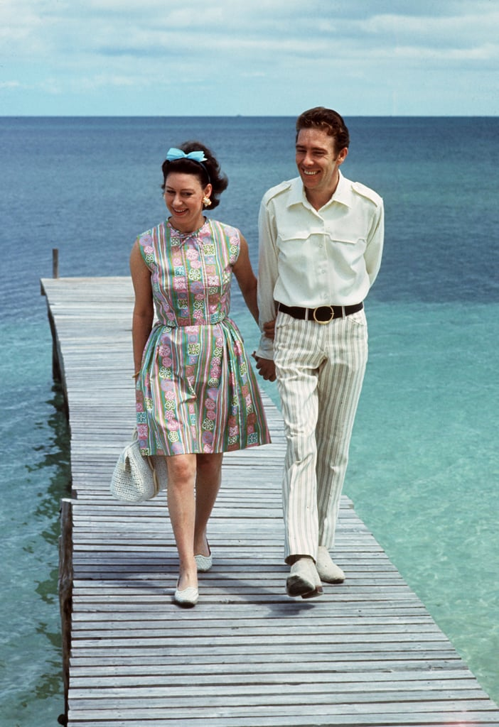 Princess Margaret and Lord Snowdon hung out in the Bahamas.