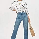 PETITE Authentic Straight Leg Jeans