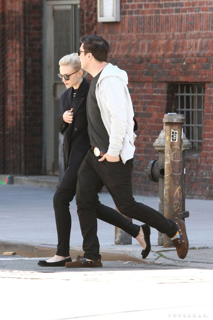 Carey Mulligan and Marcus Mumford crossed the street.