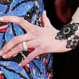 Nicole Kidman wore a Fred Leighton black-and-gold bracelet.