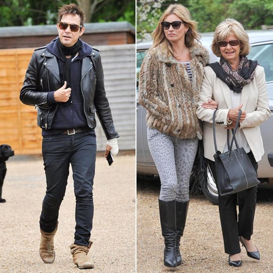 Kate Moss Plays the Model Daughter-in-Law With Jamie Hince