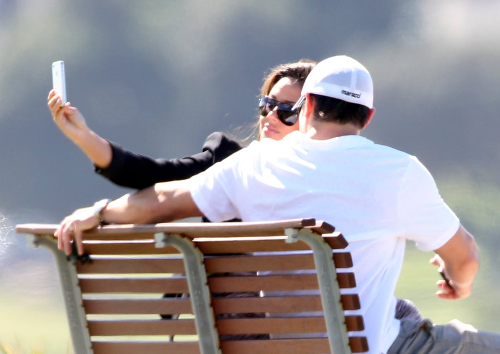 Vanessa Minnillo snapped a picture of herself with Nick Lachey in Australia.