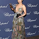 Ruth wore Valentino to the Palm Springs Film Festival for her Rising Star Award win.   RelatedWe Are Loving Rising Star Ruth Negga's Valentino Gown