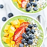 Pineapple-Banana Green Smoothie Bowl