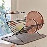 Xdry Folding Dish Rack + Mat