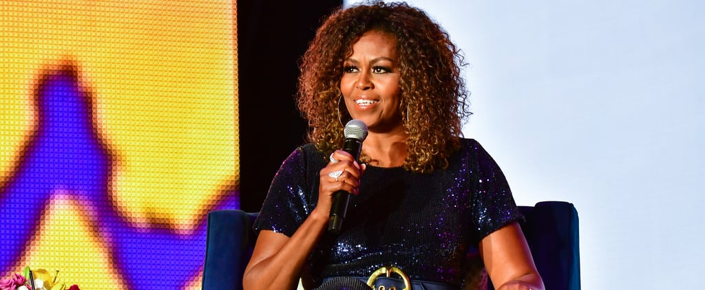 Michelle Obama Shares a Gym Instagram to Promote Self Care