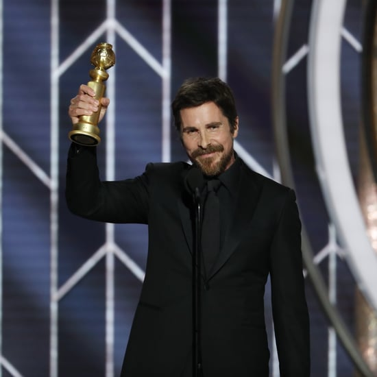 Christian Bale Kids' Names in Golden Globe Acceptance Speech
