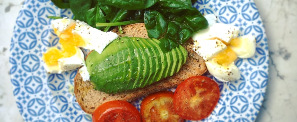 Iron-Packed Breakfast: Avocado, Egg Toast