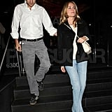 Joshua Jackson Breaks From Fringe For Date Night With Diane