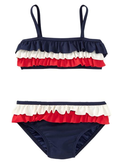For Babies and Little Girls: Baby Gap Americana Ruffled Two-Piece