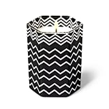 Missoni Black and White Zig Zag Glass Jar Candle