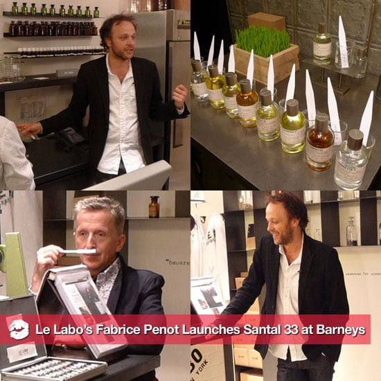 Le Labo's Fabrice Penot Interview at Barneys For Launch of Santal 33
