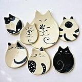 Cat Plate Ceramic Dish ($15+)