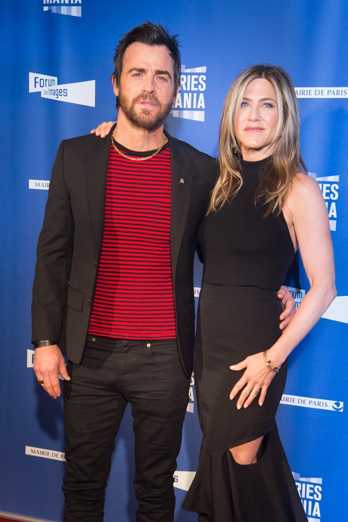 The pair struck a cute pose at the Festival Serie Mania in Paris in April 2017.