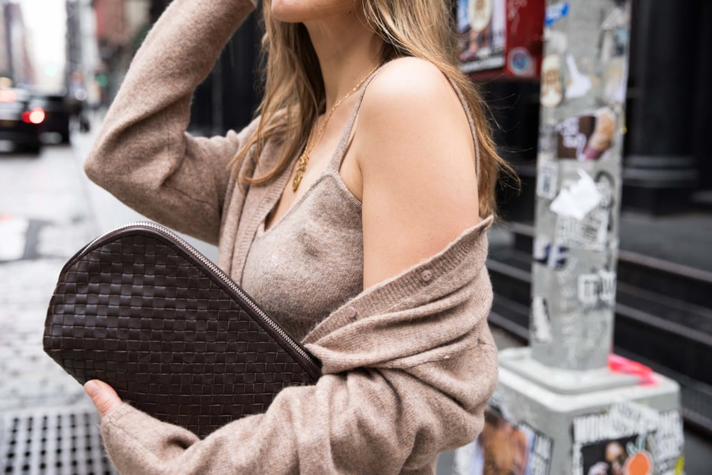 I Tried the Katie Holmes Cashmere Bra Look