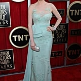 Ellie Kemper looked gorgeous on the red carpet at the SAG Awards.