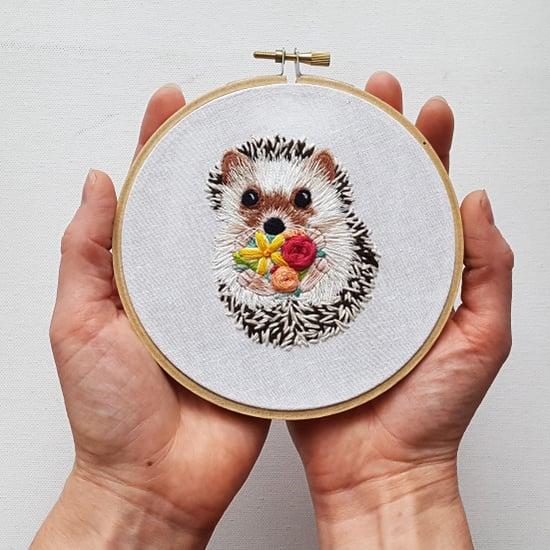 Embroidery Cross Stitch Kit Set For Beginners-Handmade Craft DIY Embroidery E0U1
