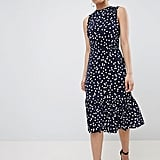 ASOS Petite Midi Dress With Tie Back