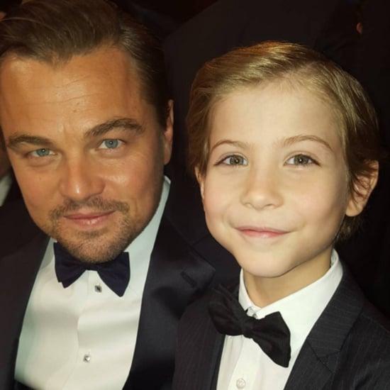 Jacob Tremblay and Leonardo DiCaprio Selfie at SAG Awards