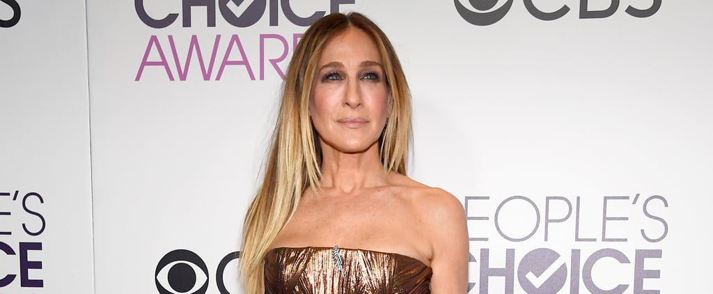 One Look at Sarah Jessica Parker's Dress and You'll Immediately Think of This Kardashian