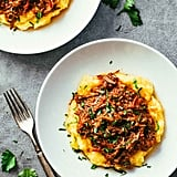 Slow-Cooker Braised Beef Ragu and Polenta