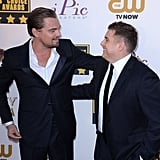 """""""Is my chest hair too much, J? Be honest."""" — Leo"""