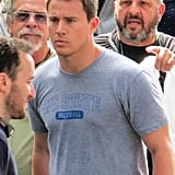 Channing Tatum filmed scenes for 22 Jump Street in New Orleans.