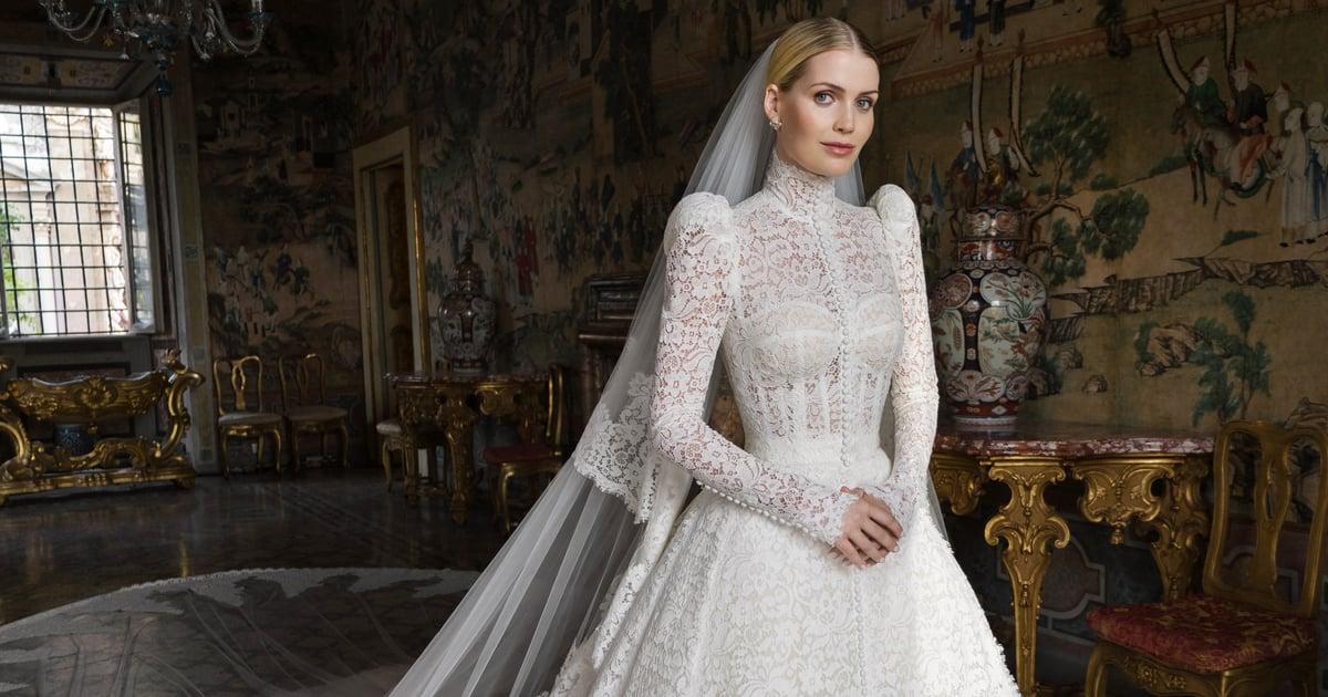 Watch Princess Diana's Niece Lady Kitty Spencer Try on Her 5 Majestical Dolce & Gabbana Wedding Dresses.jpg