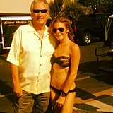 LeAnn Rimes wore her bikini to pose with Bill Medley in August 2012. Source: Twitter user LeAnn Rimes
