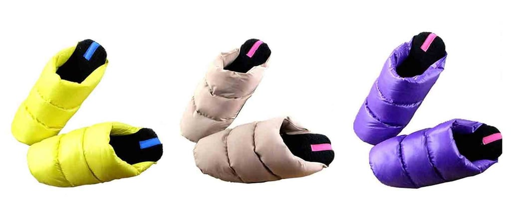 Cozy Puffer Slippers on Amazon