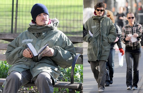 Orlando Bloom and Christina Ricci on the Set of New York, I Love You