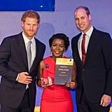 He Presented the Diana Award Charity's Inaugural Legacy Award