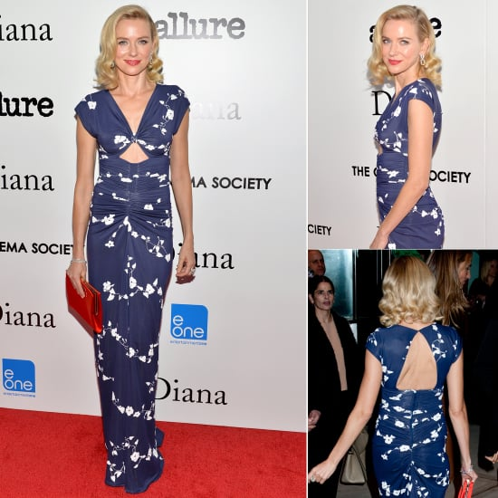 Naomi Watts Wearing Michael Kors Diana New York Screening