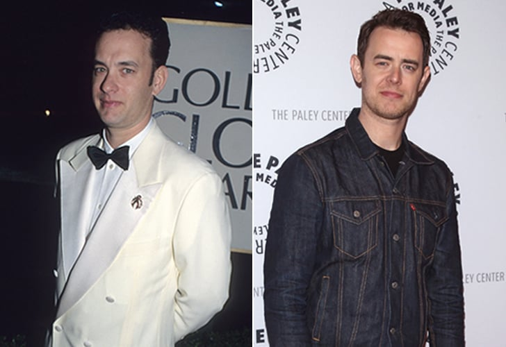 Tom Hanks and Colin Hanks | Celebrity Children Who Look ...