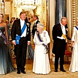 Prince William and Kate Middleton at State Banquet 2018