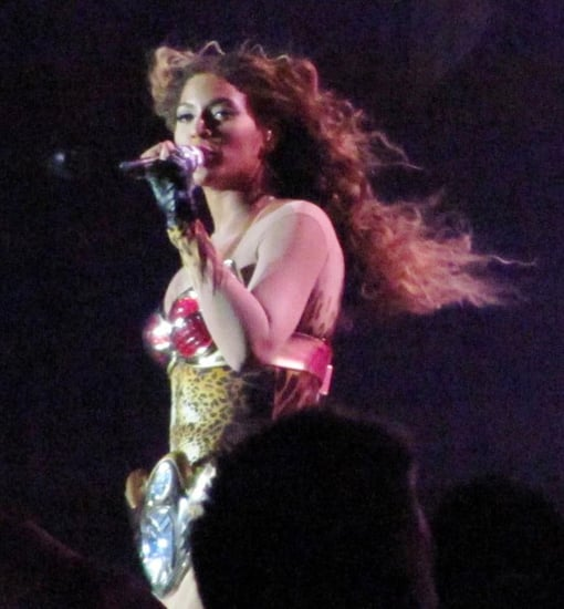 Beyonce performing live in Perth