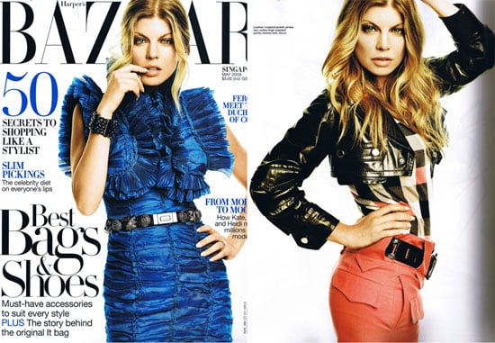 Fergie For Harper's Bazaar Singapore