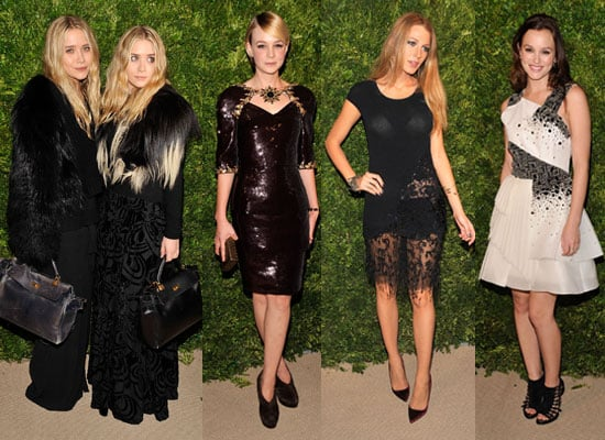 Pictures of Blake Lively, Leighton Meester, Mary-Kate Olsen, Ashley Olsen, Carey Mulligan at CFDA Vogue Fashion Fund Awards