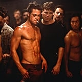 You can't not get excited at the sight of Brad in 1999's Fight Club.